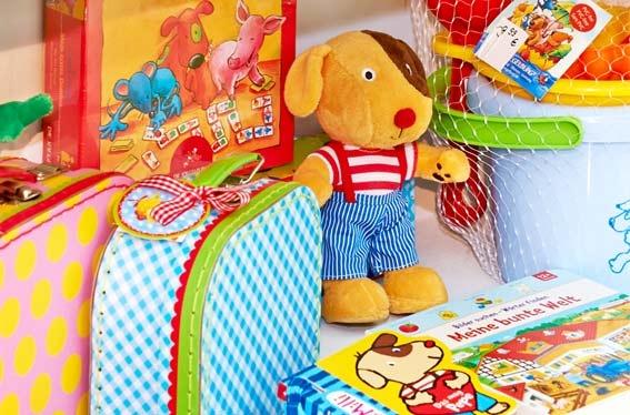 Bildergalerie der Kleinschen Buchhandlung in Krefeld - Kinder Spielwaren und mehr